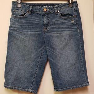 Apt.9 Bermuda Jean shorts